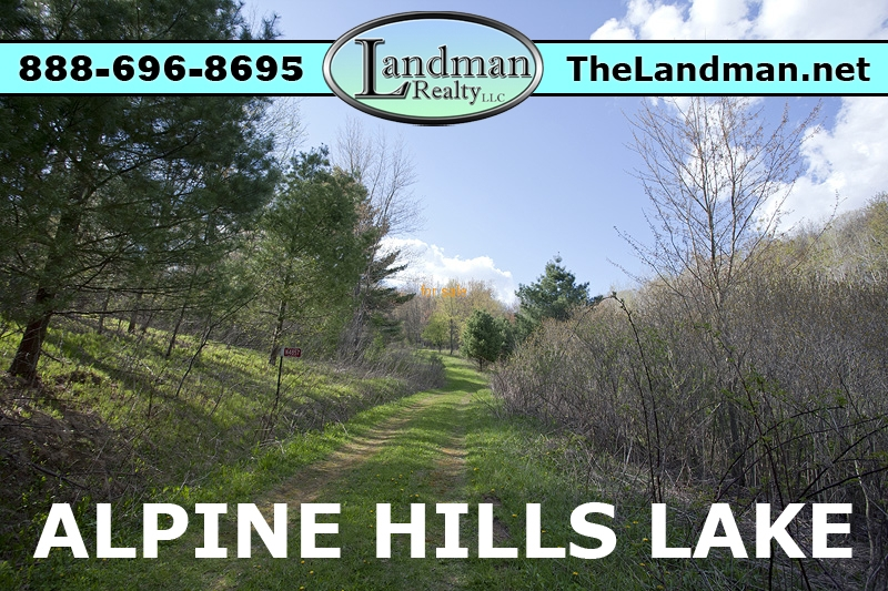 Deeded Access to Alpine Hills Lake WI