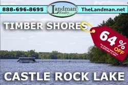 1848917, Castle Rock Lake Waterfront Lot For Sale - Building Site