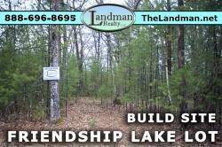 1881312, Friendship Lake Lot for Sale
