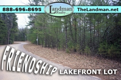 1881313, Friendship Lakefront Building Site Property for Sale